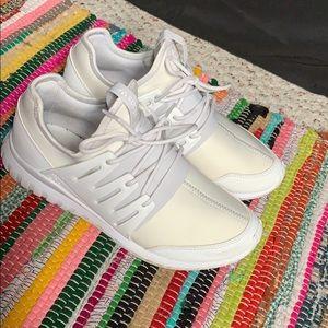 Adidas tubular running shoe